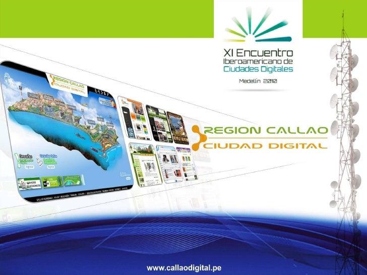 Gobierno Regional del Callao•   Situado en la región central y occidental del    territorio peruano abarcando zonas del li...