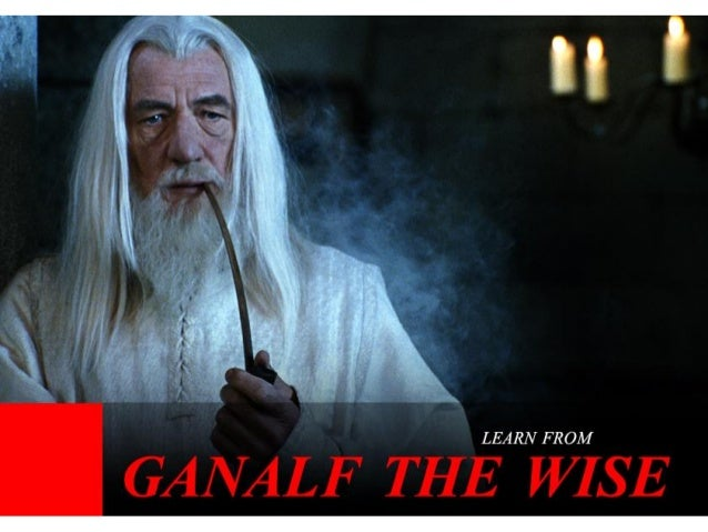 Learn from Ganalf the Wise