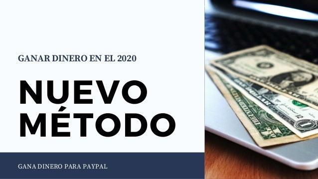 Ganar Dinero En El 2020 Dinero Para Paypal