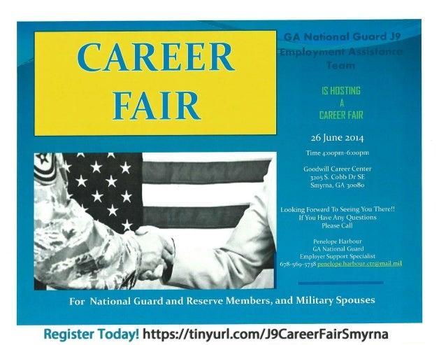 Ga. National Guard J9 Career Fair
