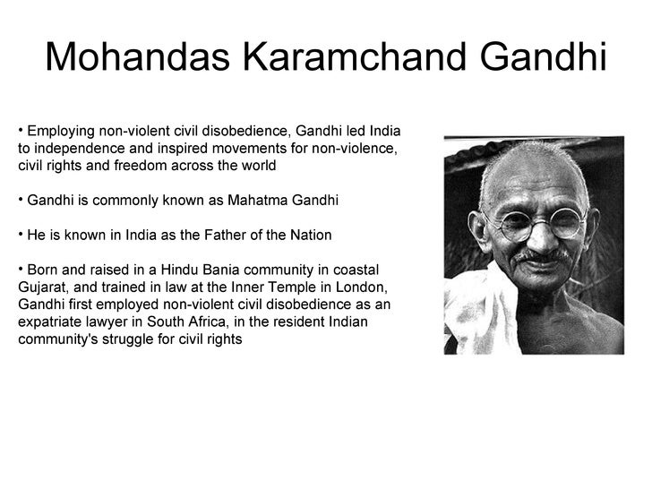 The life and times of mohandas gandhi