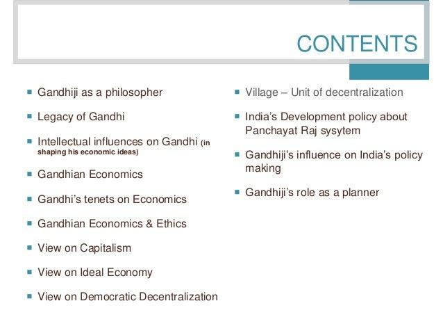 ideas of gandhiji