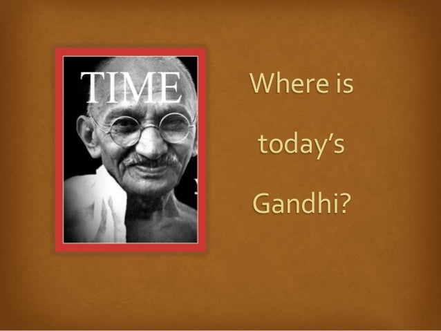 Gandhi 3.0, Moved by Love Retreat Slide 2