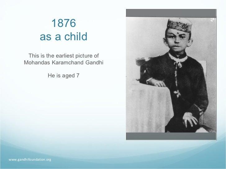 Gandhi A Life In Pictures Slide 2