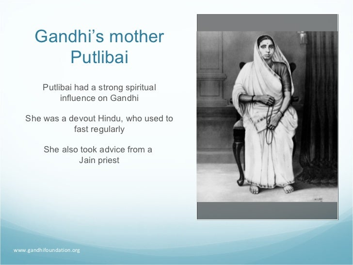 name of father and mother of mahatma gandhi