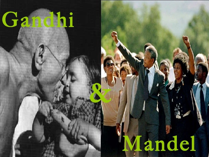 Mandela vs. Gandhi