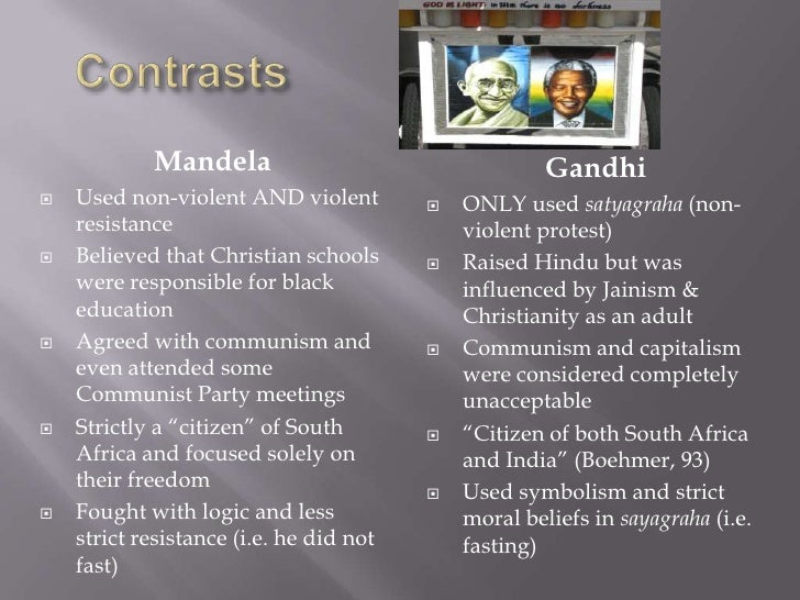 Gandhi And Mandela