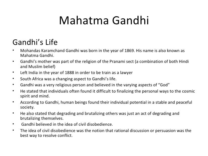 a comparison of saddam hussein and mohandus gandhi Saddam hussein: a biography by  the iraq of saddam hussein's childhood saddam's rise to power  mohandas k gandhi, known as mahatma (great soul) .