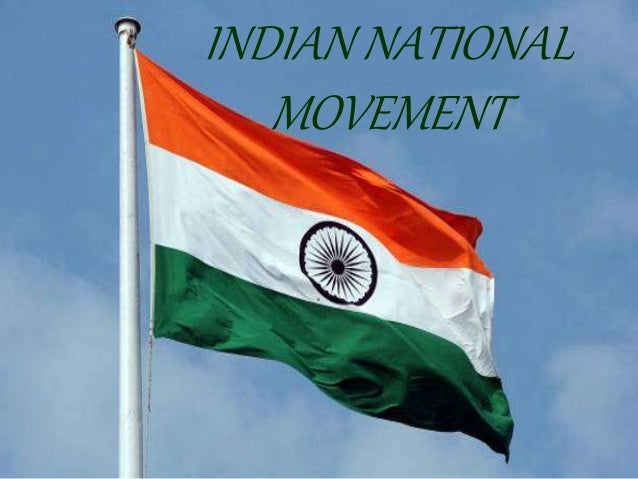 indian national movement 1857