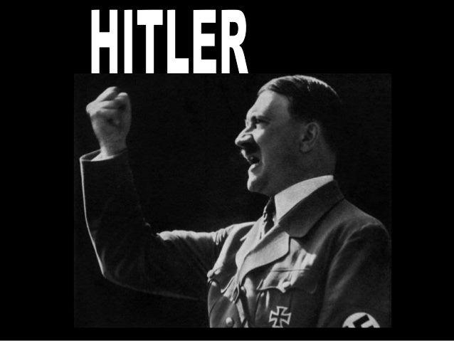 ADOLF HITLER (1889-1945), FUNDADOR DO NAZISMO. COMO DITADOR ALEMÃO DURANTE AS DÉCADAS DE TRINTA E QUARENTA, É CONSIDERADO ...