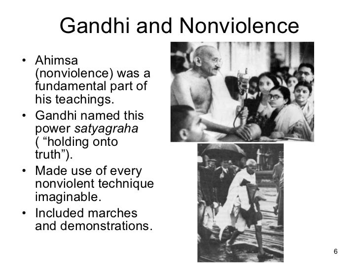 gandhi and the power of satyagraha Articles : satyagraha / civil disobedience satyagraha is a better functional alternative to guerilla warfare in the classic strategy scenario, because here gandhi's theory of power can be operationalised with stunning effect.