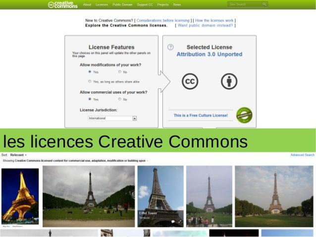les licences Creative Commons