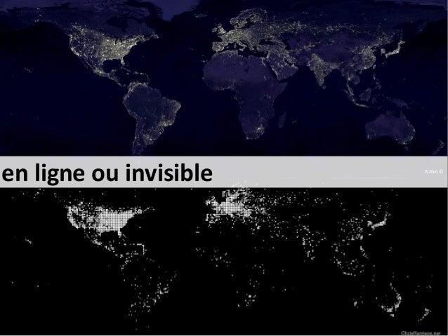 en ligne ou invisible  NASA ©