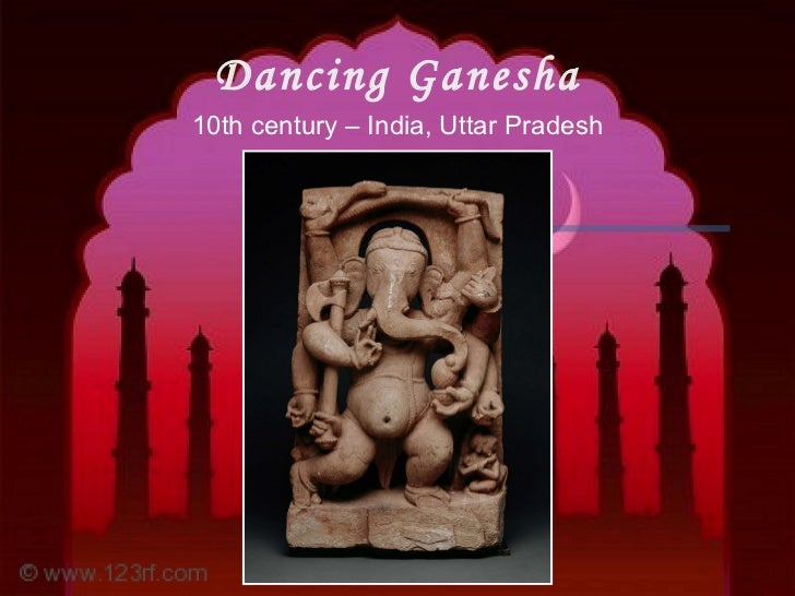 Dancing Ganesha 10th century – India, Uttar Pradesh