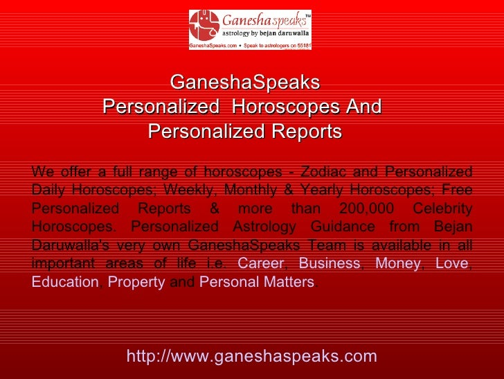 Ganesha Speaks -Astrology Products
