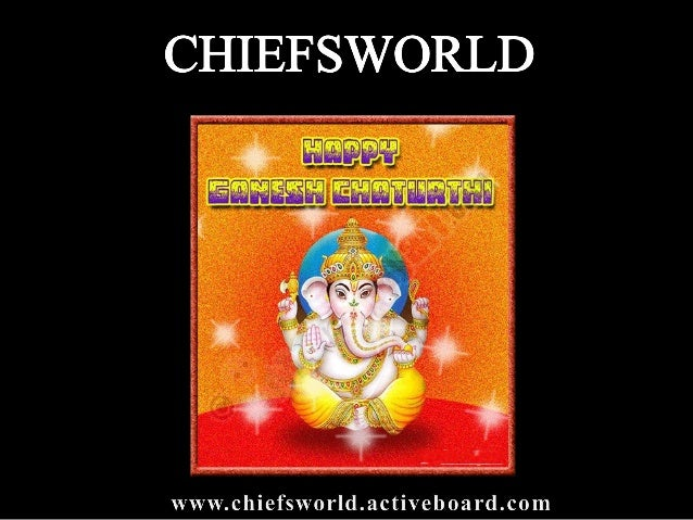 Ganesh Chaturthi Ganesha Chaturthi is the day that we celebrate Lord Ganesha. It is celebrated on the birthday of Lord Gan...