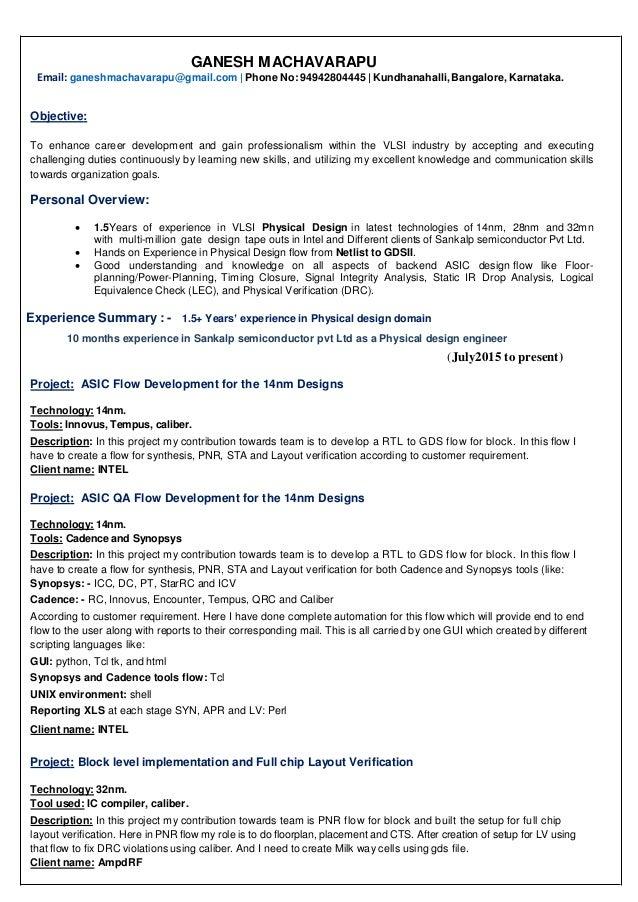 Ganesh Machavarapu Resume