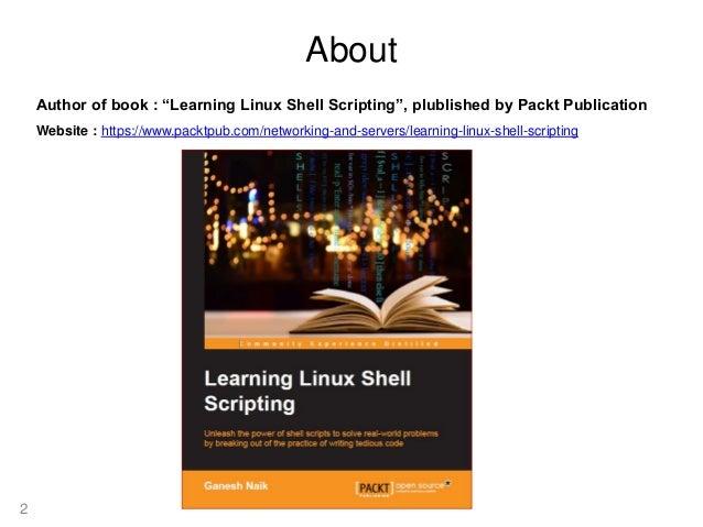 Basic sed primer - Linux Shell Scripting Cookbook