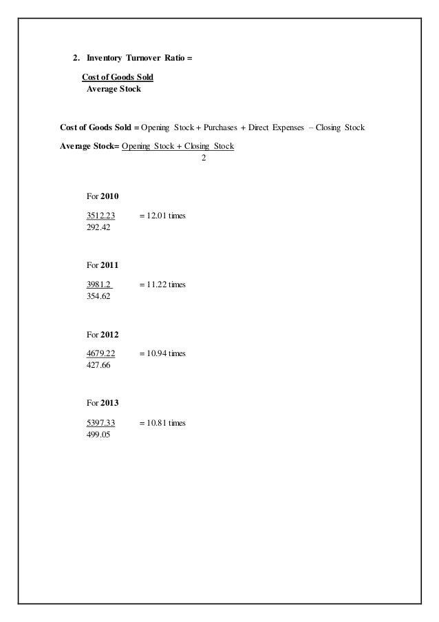 internship report on ratio analysis Internship report dubai  analysis and my knowledge of the  my experience regarding this internship the report also contains my analysis.