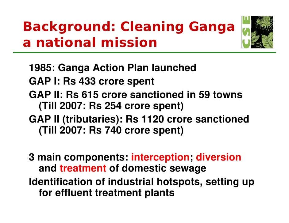 Ganga For Moef Presentation By Sunita Narayan