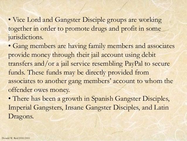 Gang Analysis 2010