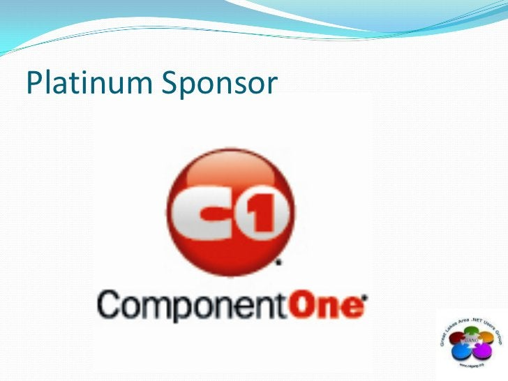 Platinum Sponsor<br />