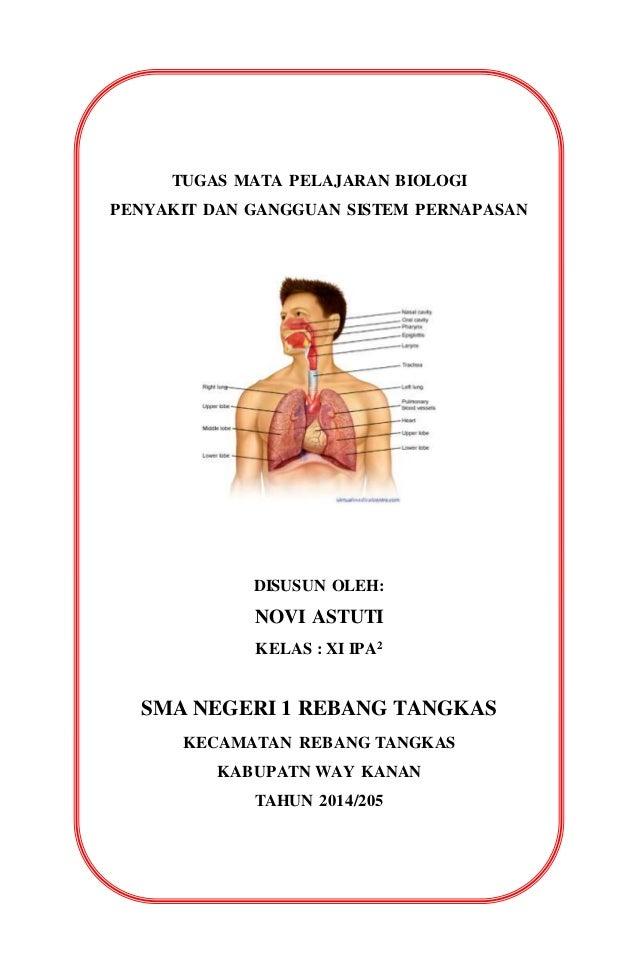 Gangguan pada organ pernapasan manusia