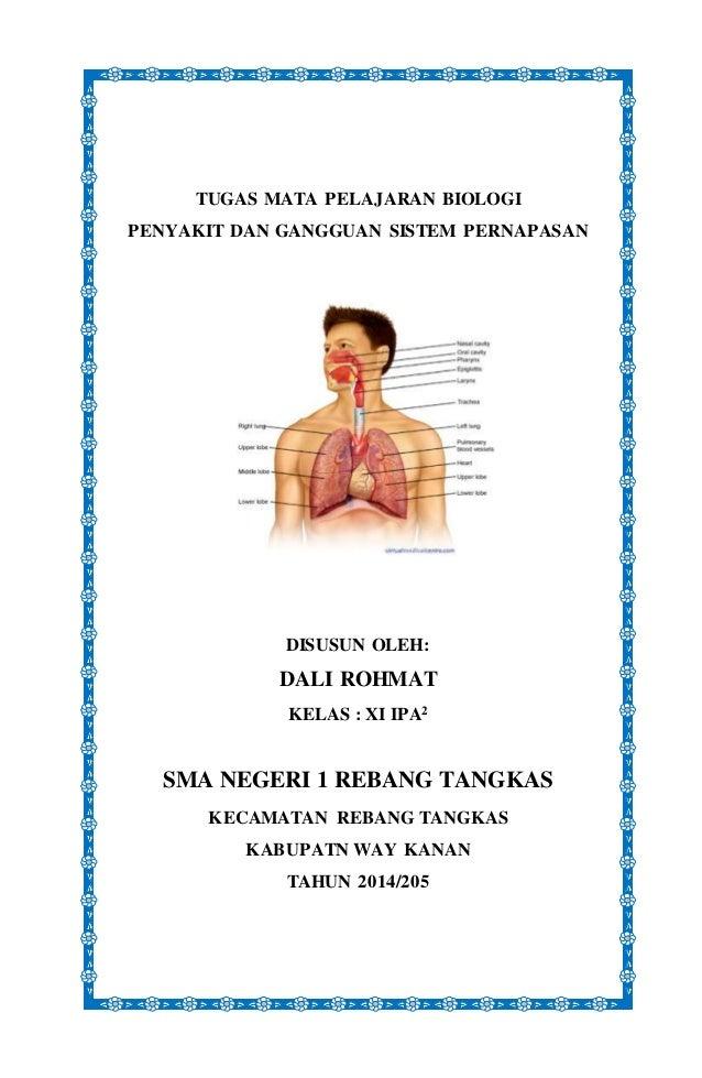 Gangguan Pada Organ Pernapasan Manusia 2