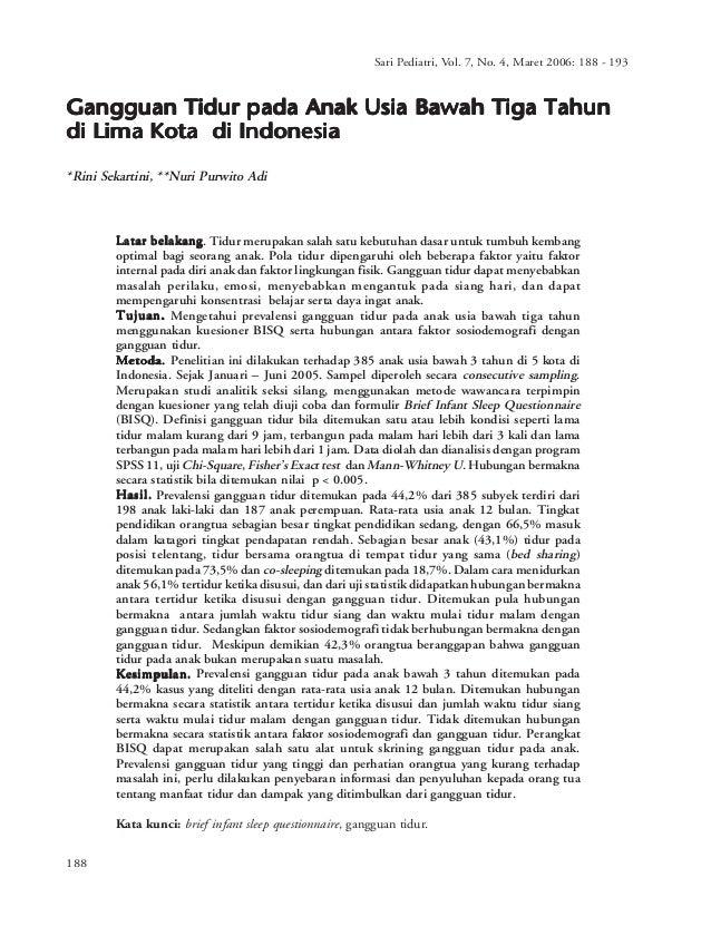 Sari Pediatri, Vol. 7, No. Vol. 7, No. 4, Maret - 193                                                                     ...