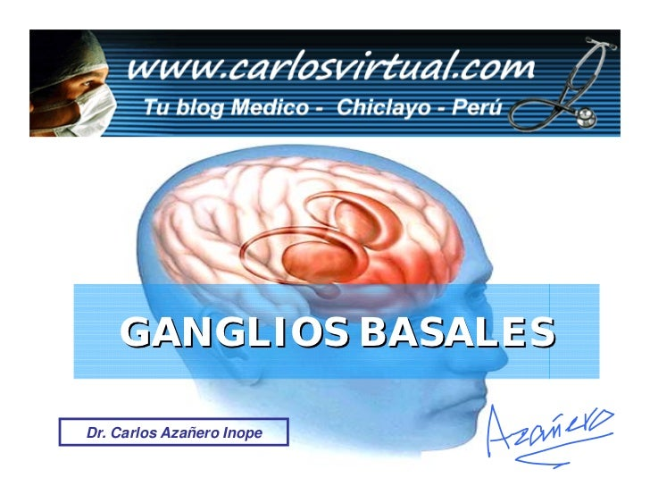 GANGLIOS BASALES  Dr. Carlos Azañero Inope                        Dr. Carlos Azañero Inope