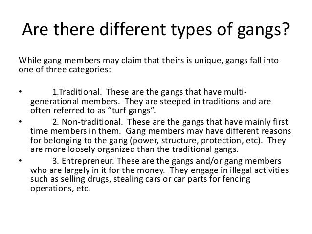 the reasons why gang violence should stop To be considered risk factors, they must have both a theoretical rationale and a   multiple risks yet avoid becoming involved in violence (garmezy, 1985 rutter,  1985  academic failure, family conflict, and belonging to a gang are additional .