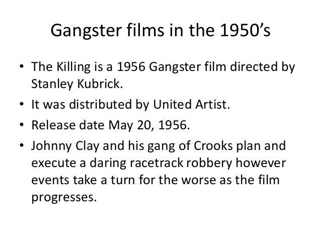 1950 gangster movies