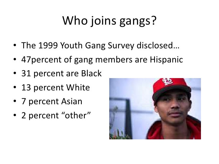 youth and gangs