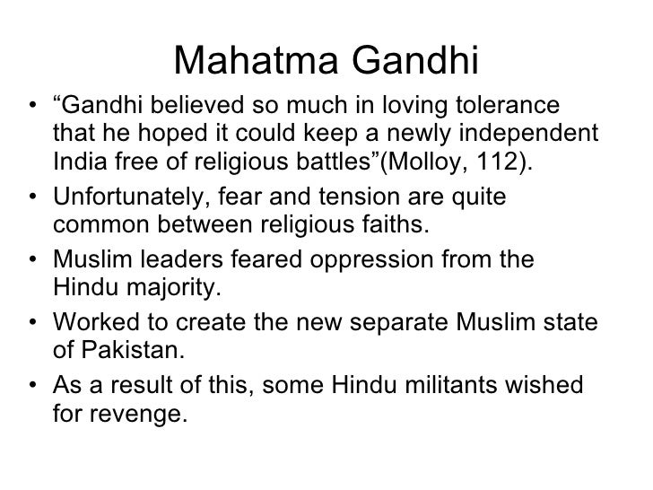 some lines on mahatma gandhi