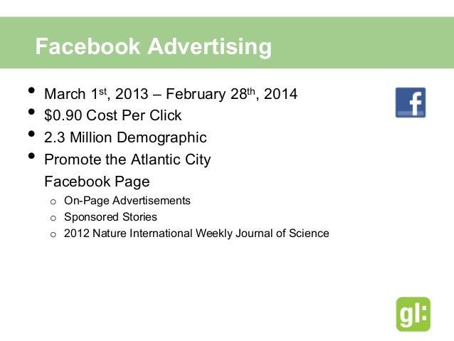 Facebook AdvertisementsSample Sponsored Story