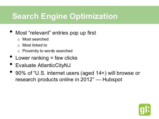 Google AdWords• March 1st, 2013 – February 28th, 2014• $0.71 Cost Per Click• 4 Advertisement Focus   o   DO Atlantic C...