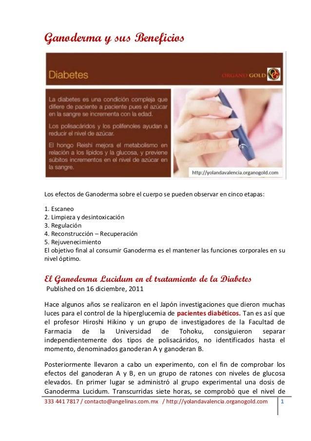 Ganoderma y sus BeneficiosLos efectos de Ganoderma sobre el cuerpo se pueden observar en cinco etapas:1. Escaneo2. Limpiez...