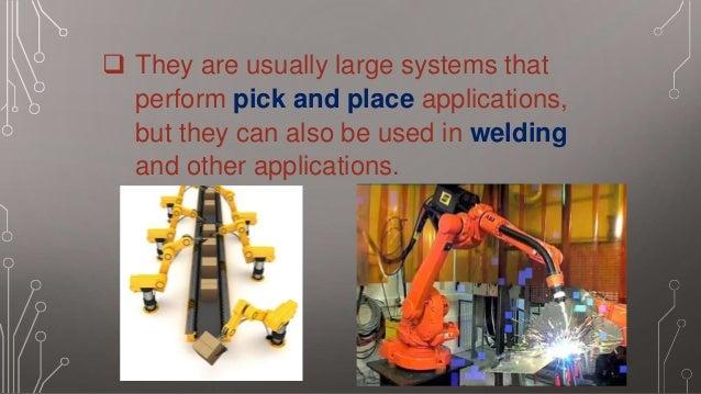 Gantry robots