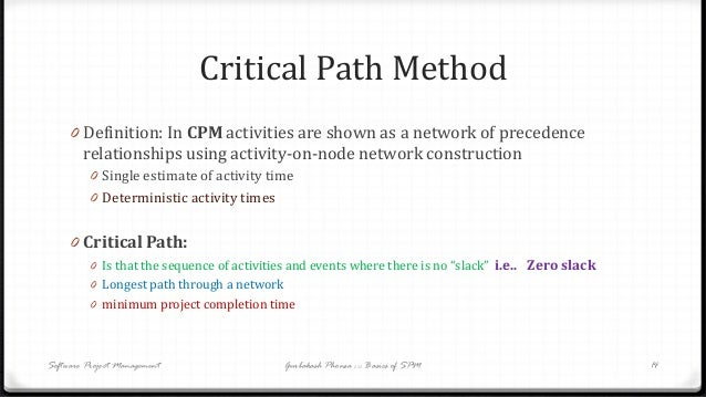 a description of the critical path as the longest duration path through the project Project constraints and the longest path of activities that represents the longest path through a project can find the longest path (or critical.