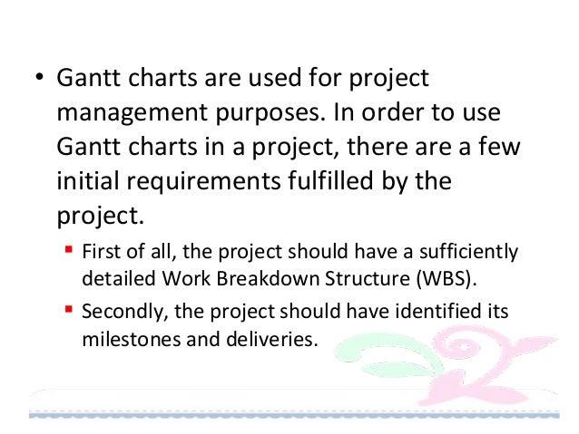 Gantt chart cpm Slide 3