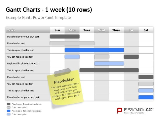 powerpoint gantt charts template, Powerpoint templates