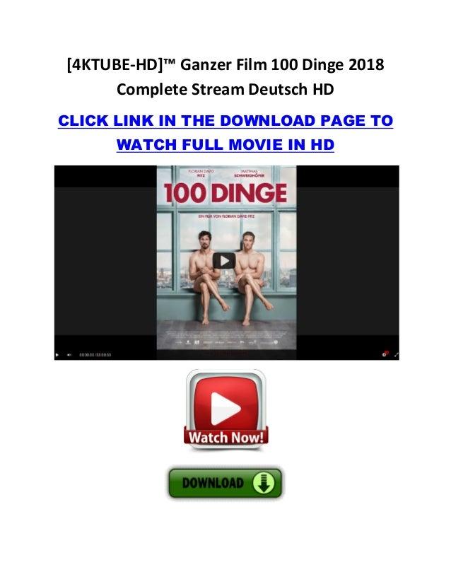 100 Dinge Film Stream