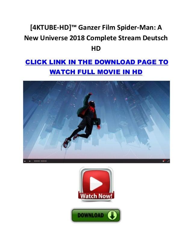 Spider Man A New Universe Stream Deutsch