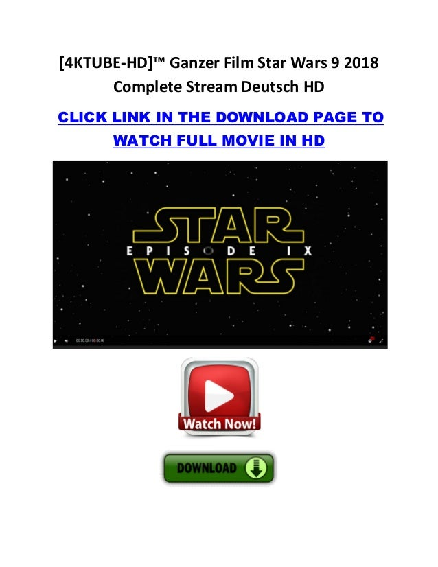 Star Wars 4 Ganzer Film Deutsch