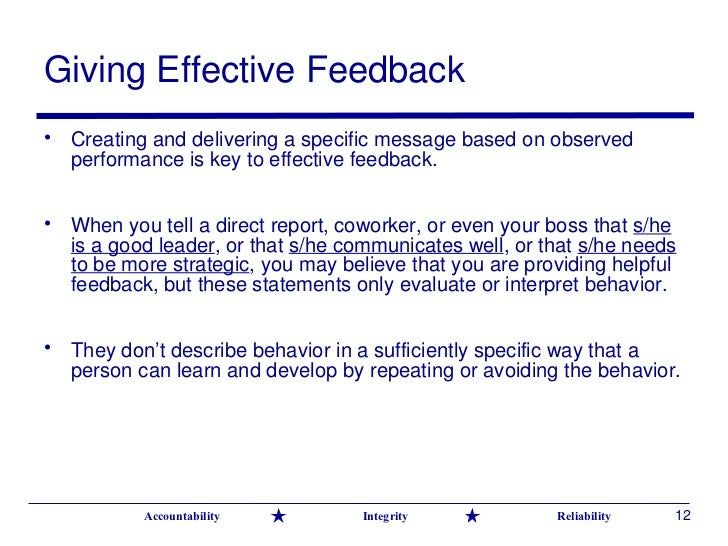 How to Give Positive Feedback, Through 10 Examples