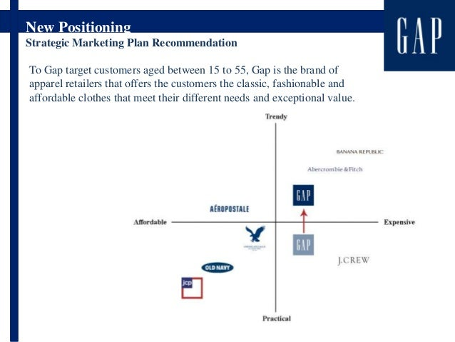 """gap marketing strategy plan Gap inc outlines strategy for long  intend,"""" """"plan,"""" """"project,"""" and  flow from our marketing and servicing arrangement."""
