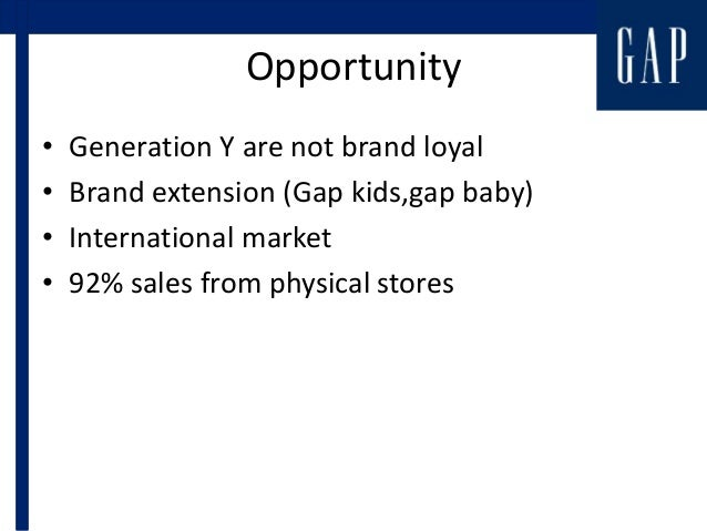 old navy swot analysis Having joined the gap family in 1994, old navy was the solution to capturing the family i think the gap the gap is creating: swot analysis.