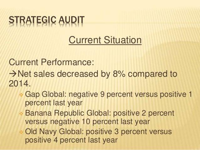 Gap Inc. - Case Analysis (Strategic Audit) Slide 3