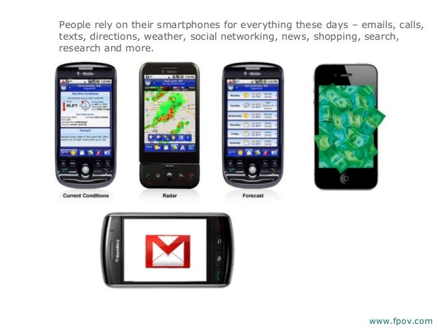 People rely on their smartphones for everything these days – emails, calls,texts, directions, weather, social networking, ...