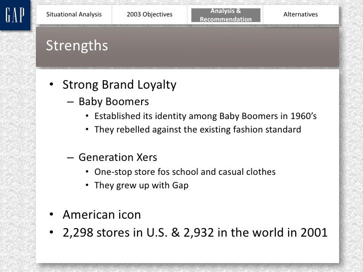 Business Case Studies, Competitive Strategies Case Study, Gap Inc, SWOT analysis